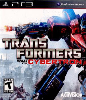 [PS3]TRANSFORMERS WAR FOR CYBERTRON(トランスフォーマー ウォーフォーサイバトロン)(海外版)