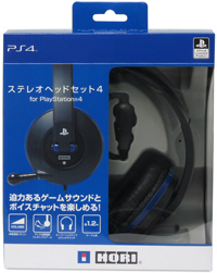 [PS4]PS4用ステレオヘッドセット4 for PlayStation4 ホリ